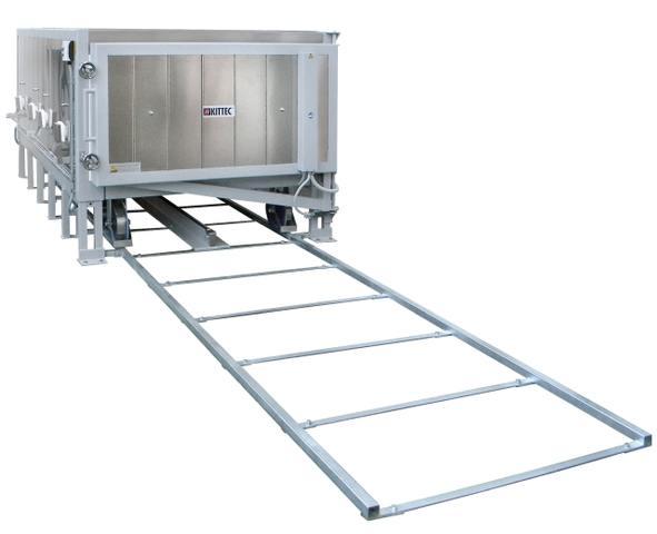 Herdwagenofen - Brennofen für Industrie und Handwerk